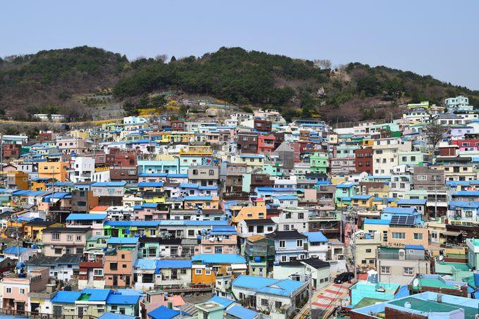 10.甘川洞文化村/韓国