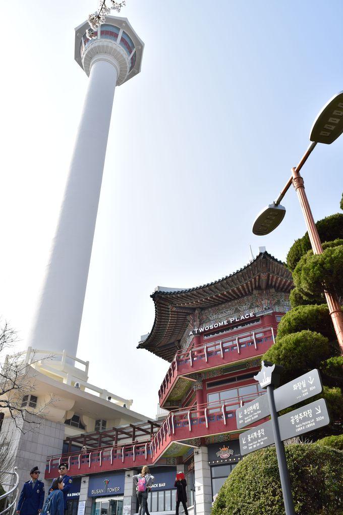1日目午前:釜山タワーにBIFF広場「南浦洞」を散策!