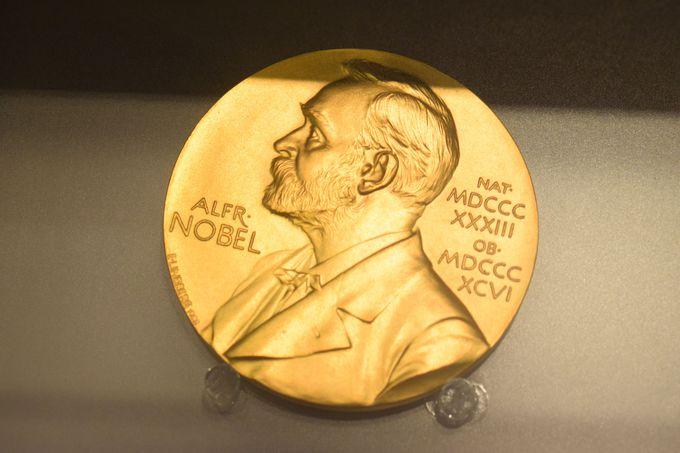ノーベル物理学賞のメダル!?
