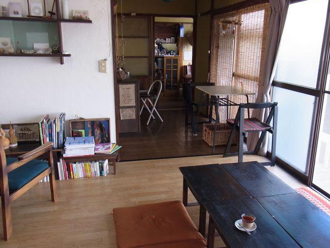 昭和レトロなベーグルカフェでほっこりする