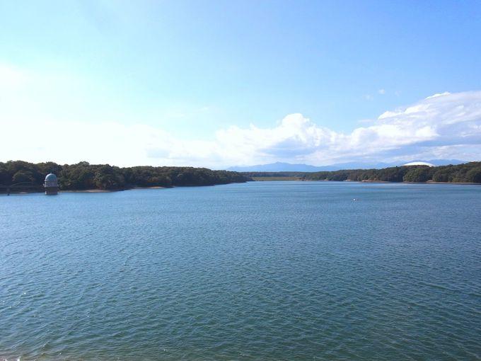 日本一美しい取水塔のある多摩湖で心も体もリフレッシュ!