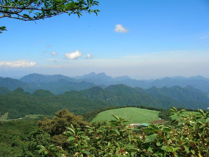 ハイキングコースが充実!物見山からの絶景。