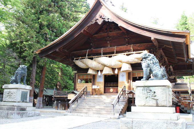 迫力満点!日本一の青銅製の狛犬
