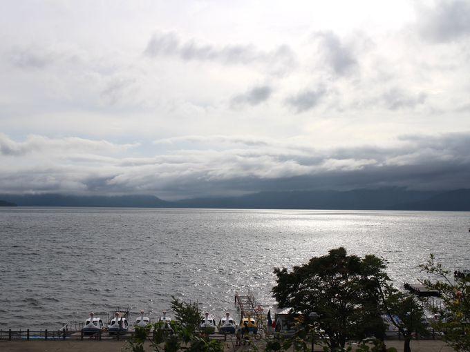 水質日本一の支笏湖をのぞいてみよう!