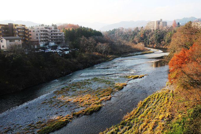 豊かで清らかな多摩川と山々の恵み