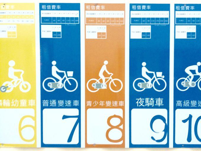 まずは自転車のレンタルをしてみよう!