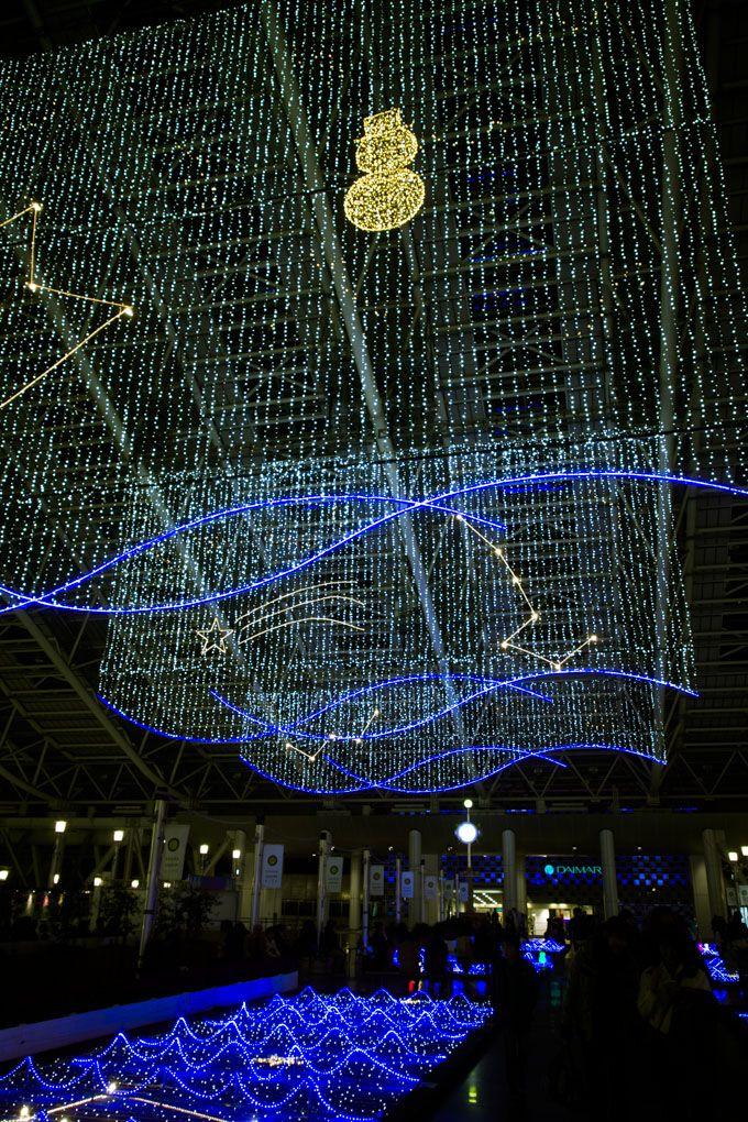 JR大阪駅・時空の広場のイルミネーション「トワイライト・ファンタジー」