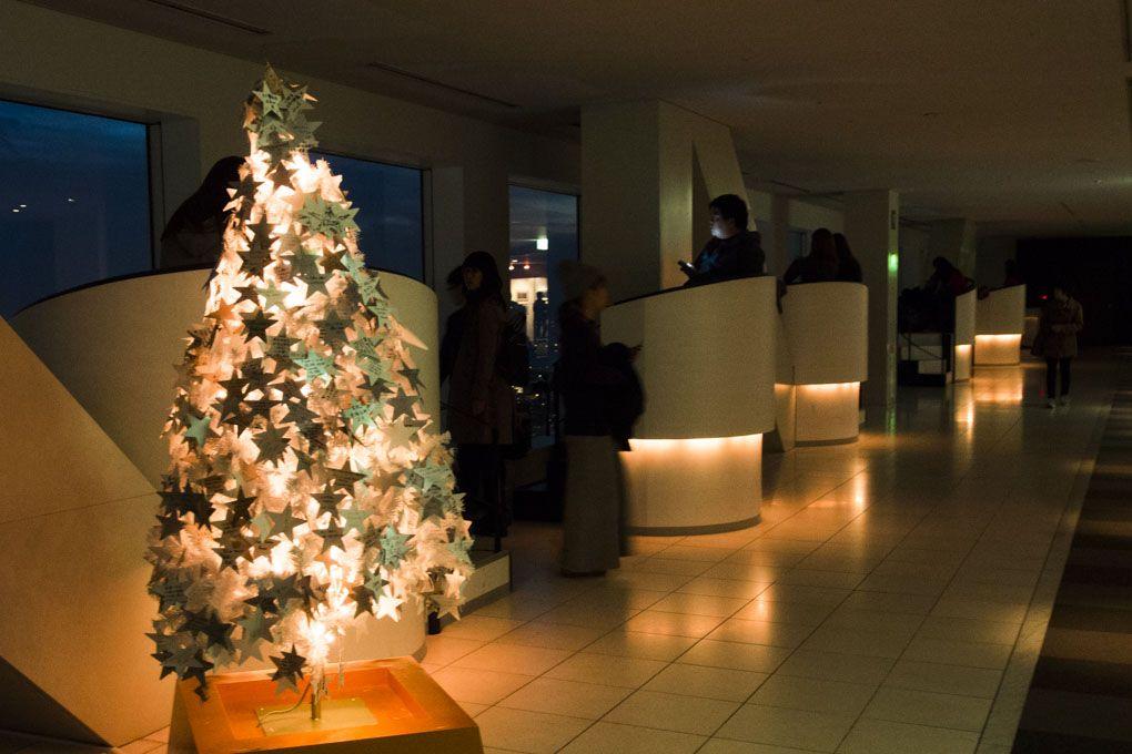 地上173mで過ごすクリスマス!大阪梅田「空中庭園展望台」