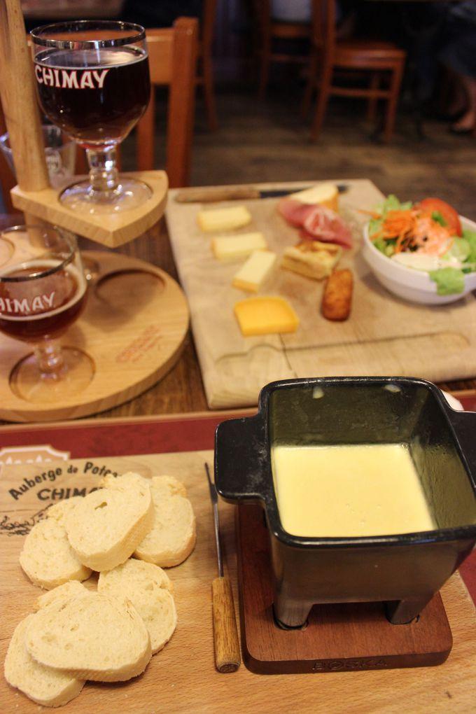 フォンデュも美味しい、実力のシメイチーズ。