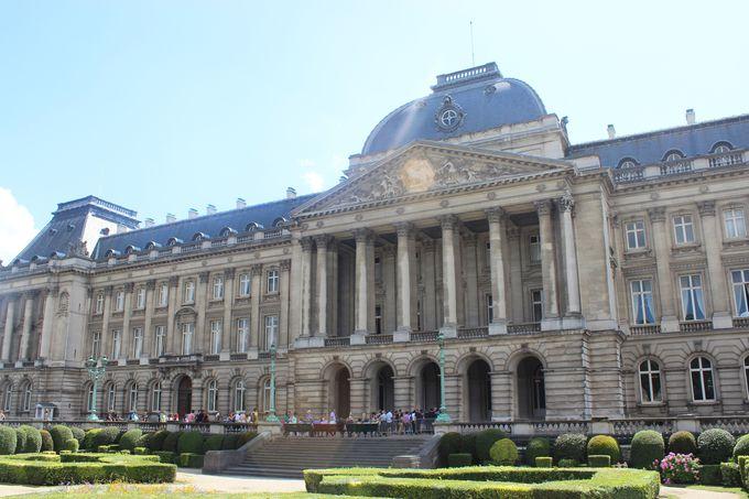 4.ブリュッセル王宮