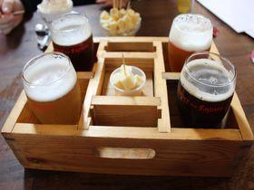 スーパーファーニュの新鮮なベルギービールを醸造所で頂く!
