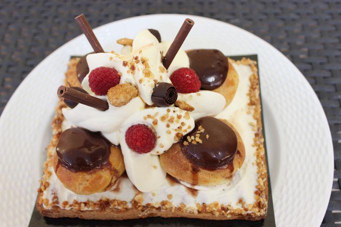 モテの濃厚なベルギーチョコレートとフレッシュな生クリームが相性抜群!