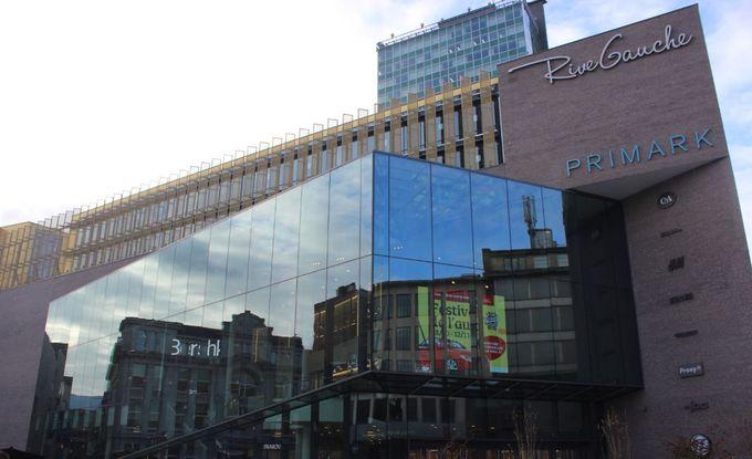 ベルギー最大のショッピングセンター「リヴ・ゴーシュ」