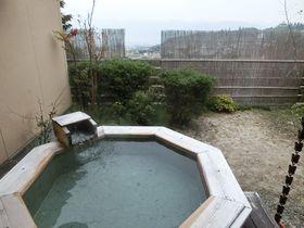 駒ヶ根早太郎温泉「和みの湯宿なかやま」の露天風呂付のお部屋でゆっくり!