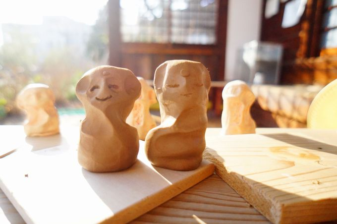 「持光寺」でにぎり仏作り!