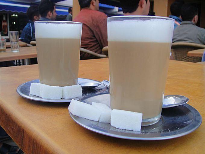 甘党のあなたに贈るモロッココーヒー&スイーツ