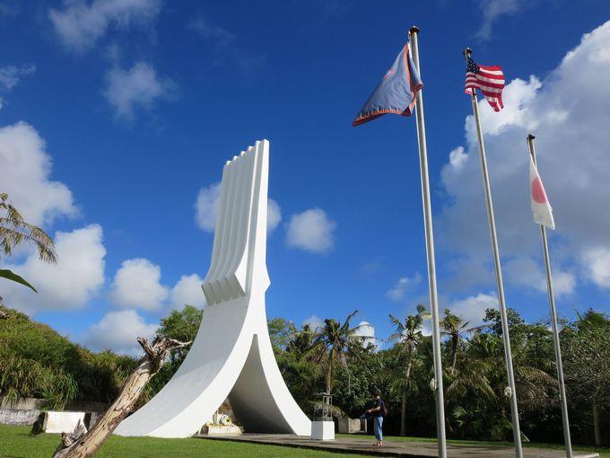 「南太平洋戦没者慰霊公苑」で世界の平和に合掌!