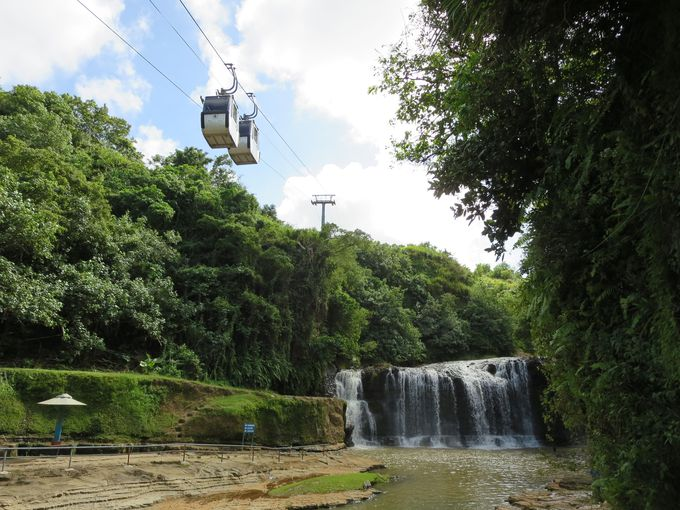 6.タロフォフォの滝