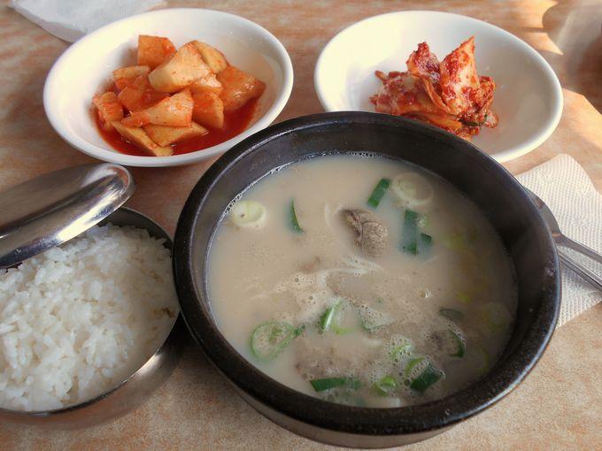 「ソルロンタン」は韓国ローカルフード一押しの朝食