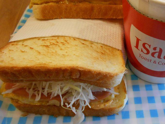 トーストサンドイッチが人気急上昇!!