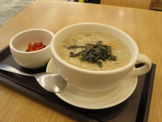 疲れた胃袋にやさしい韓国のお粥(チュッ)はいかが?