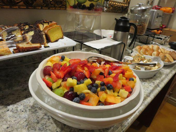 朝食の「おもてなし」は極上のコンチネンタル・ブレックファースト!