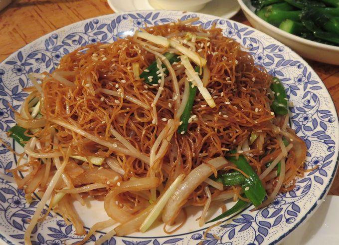 焼きそばの神髄!「豉油皇炒麺(チーヤウファン・チャウミン)」