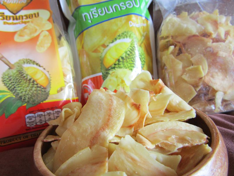 おいしさ大発見!タイのドリアンチップスは目からウロコ!!