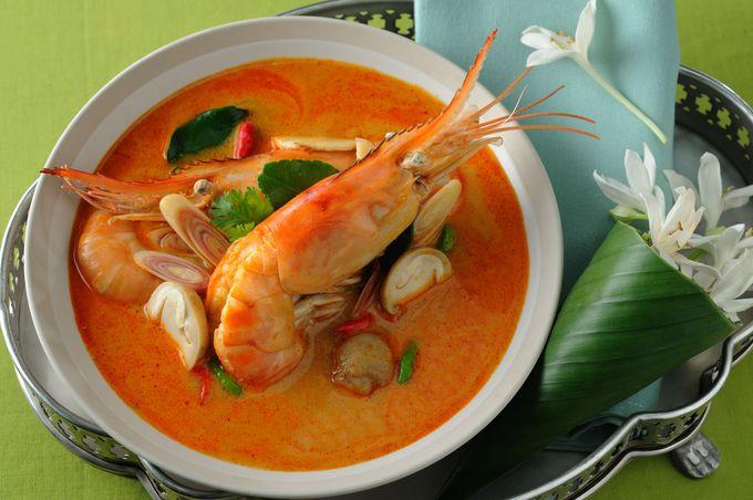 ホットなタイでホットなスープ「トム・ヤム・クン」