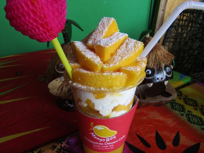 マンゴー好きなら外せない「スノーマンゴーフロート」に卒倒!