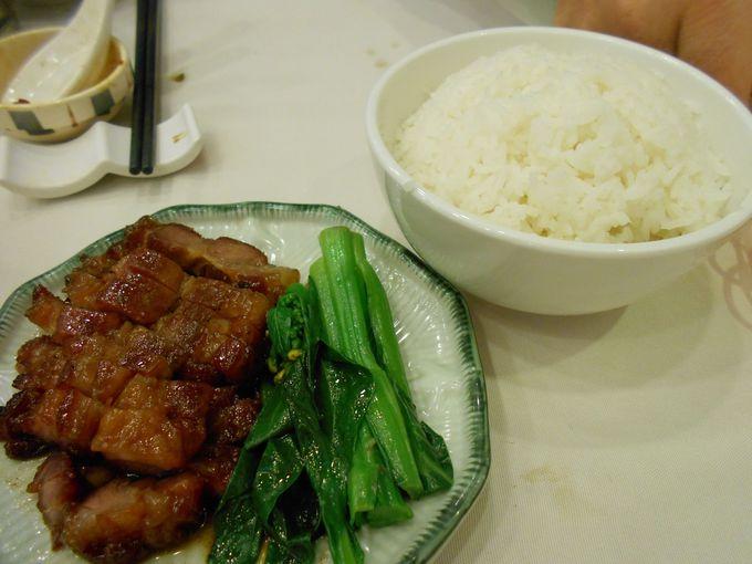 焼豚よりも香ばしいチャーシューがクセになる!「叉焼飯」