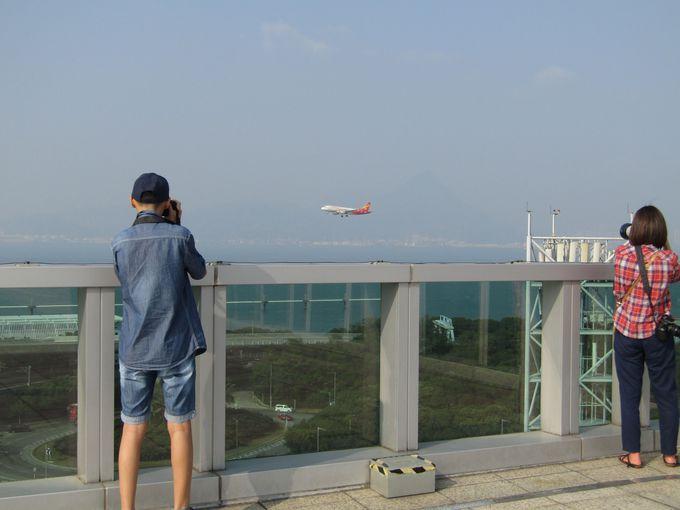 飛行機の写真が撮りたいならココ!「スカイデッキ」