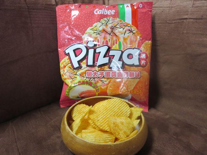ただの「ピザ味」じゃない!和風の「明太子マヨネーズピザ味」