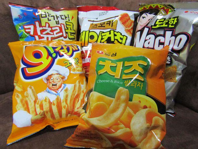 ジャンクフードは韓国人も大好き!スナック菓子を狙え