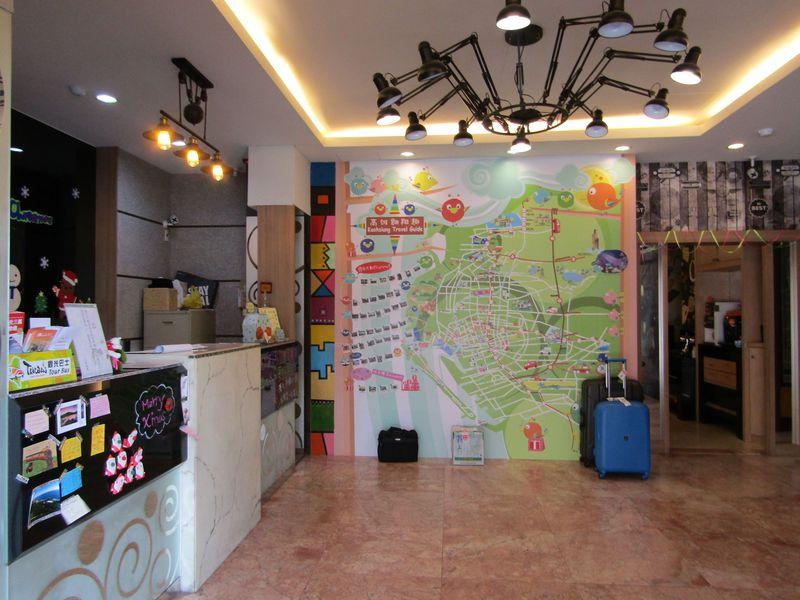 イケてるビジネスホテル!ポップな台湾「高雄三多商務旅店」