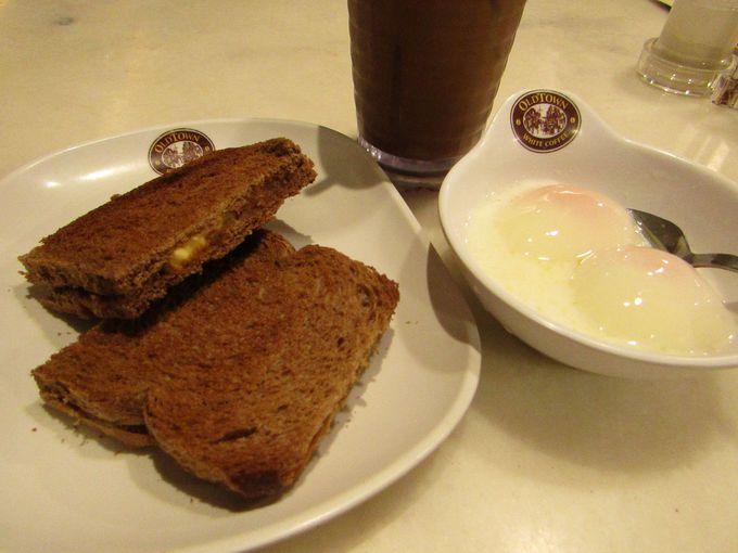 やっぱり朝はパンでしょ!の方なら「カヤトースト」