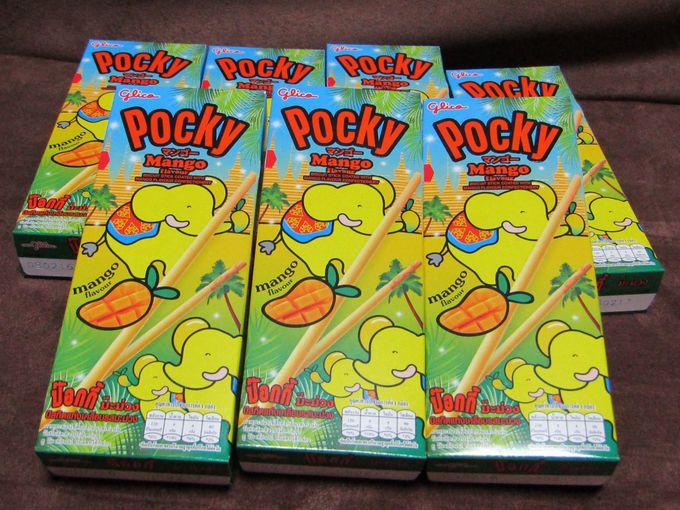 ゾウさんも泣いて喜ぶ「ポッキー・マンゴー」