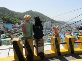 スタンプラリーで楽しもう!アートあふれる釜山・甘川文化村