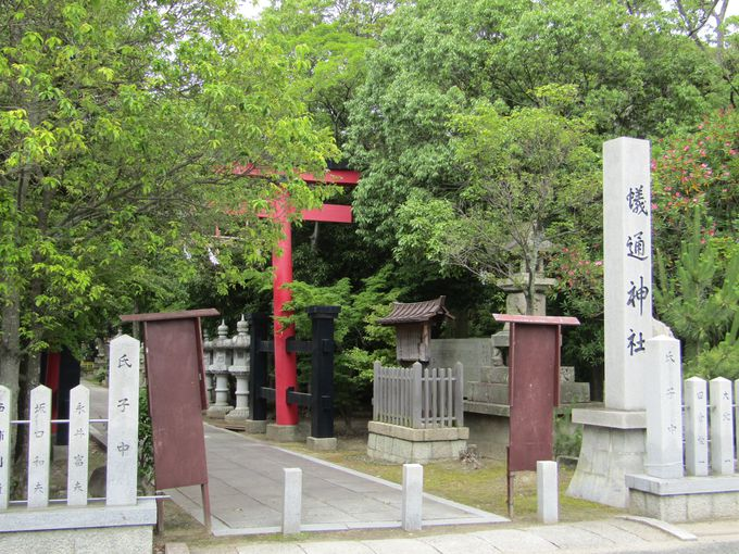 古代より信仰を集めていた古典の神社「蟻通(ありとおし)神社」