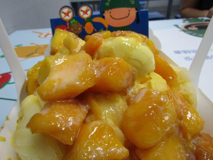 B級!アイスとマンゴーが戦場のごとくせめぎ合う!(台中)