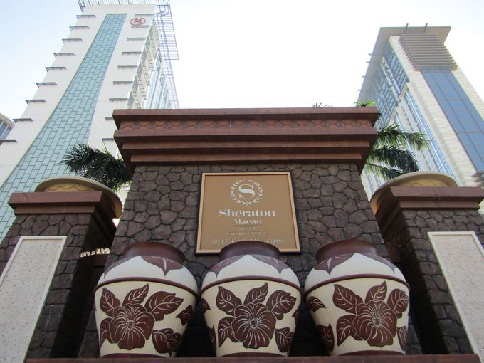 サンズ・コタイセントラルの大型ホテル「シェラトングランド・マカオホテル」