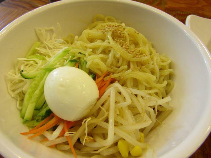 暑い夏は冷たい麺で!ネンミョンの豊富な種類!