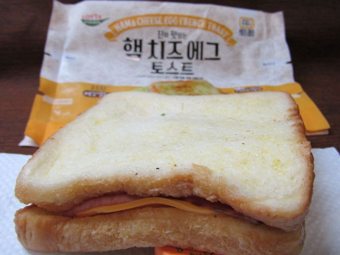 屋台の朝食メニューが豪華に!「ハム&チーズ エッグ フレンチトースト」