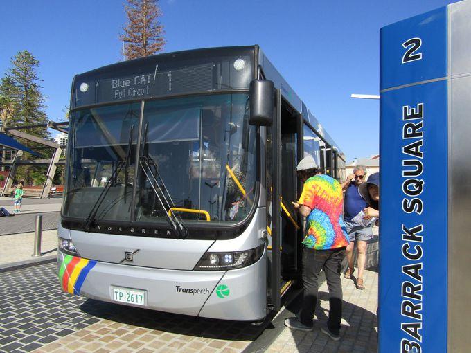 無料バスの4路線を使いこなせば、パースの滞在が4倍楽しくなる!