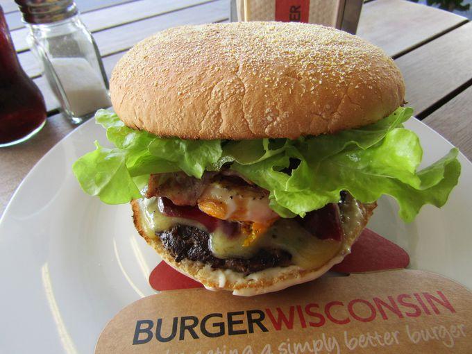 グルメハンバーガーの元祖!「バーガー・ウィスコンシン」