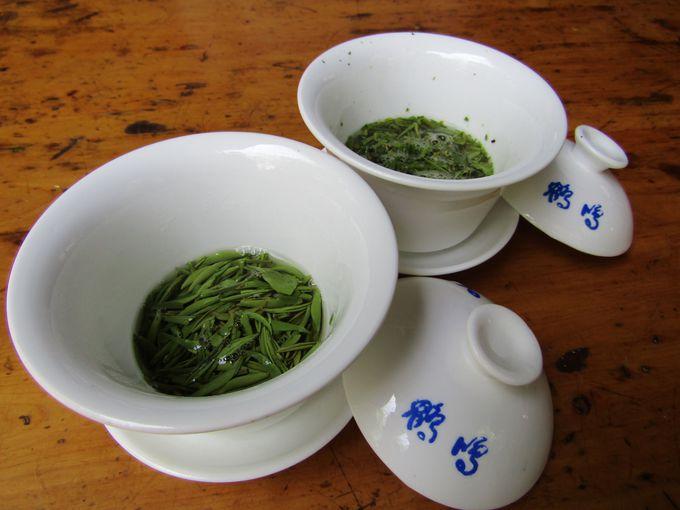 実は四川省はお茶の名産地