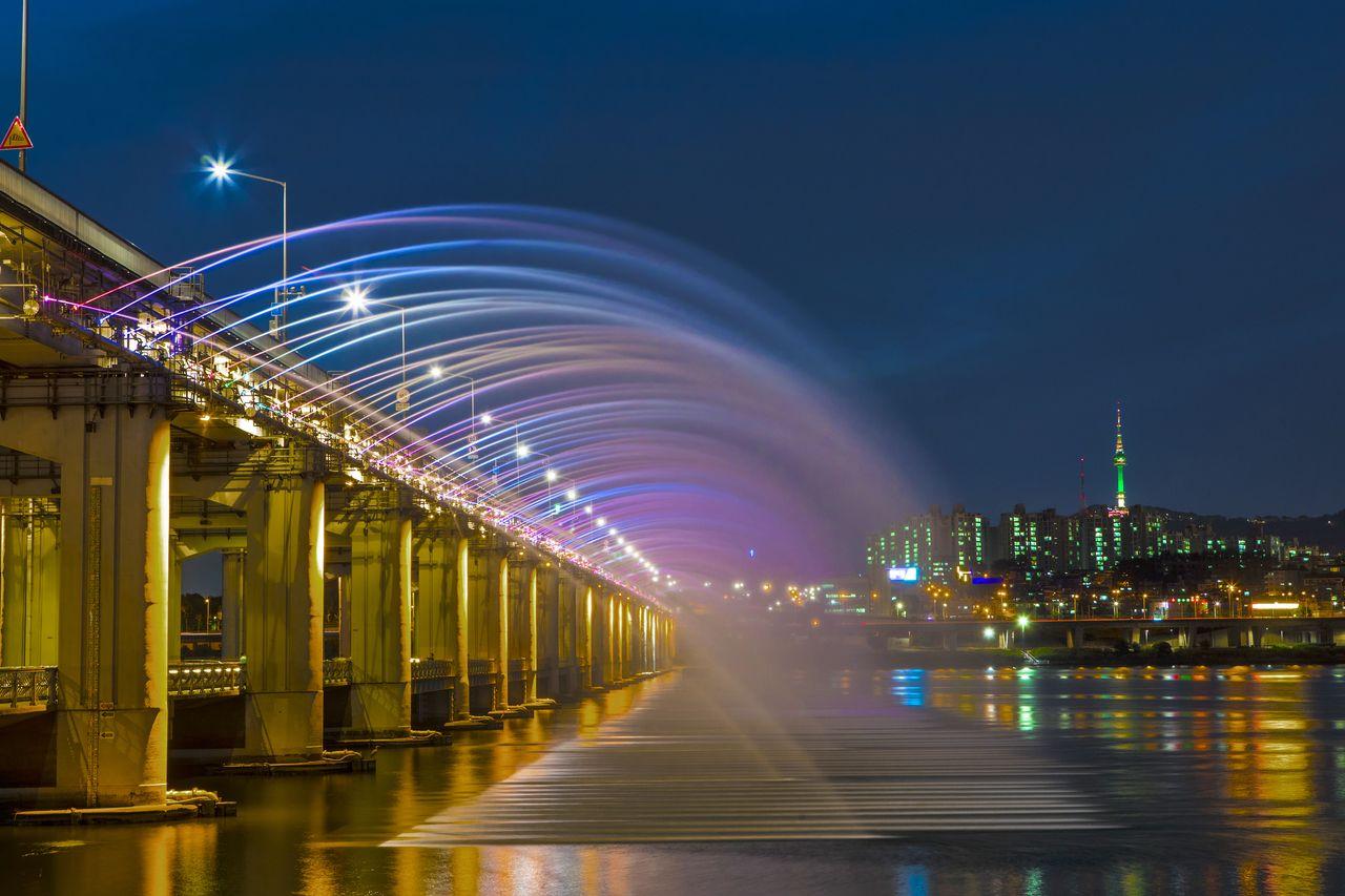 6.月光虹噴水/ソウル市