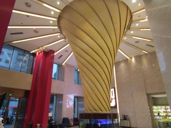 ホテルロビーは風水パワーがあふれている!