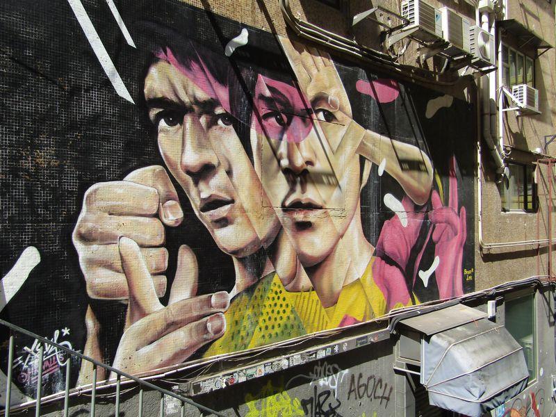 香港で年々増殖中!街角でウォールアートを楽しもう