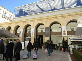 マルタの首都ヴァレッタのグルメビル「イス・スー・タル・ベルト」